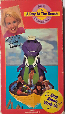 BARNEY AND THE Backyard Gang A Day At the Beach VHS ...