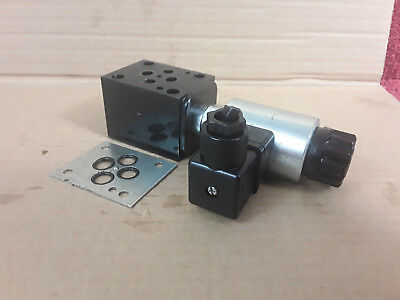 Sun Hydraulic CETOP 3 Ng6 Interface Mounted Poppet Valve DTDA MHN GBP/S 24VDC *