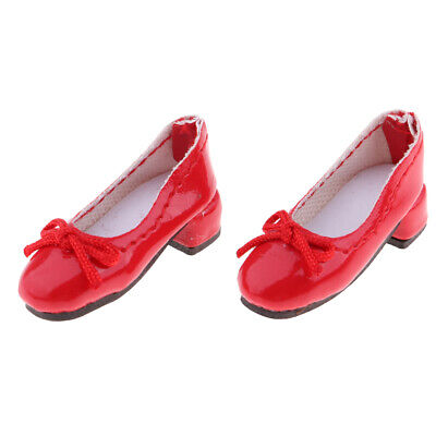 Doll Glossy PU Leather High Heeled Shoes For 1/6 Blythe/ Azone/ Licca Doll