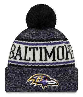 New Era 2018 NFL Baltimore Ravens Sport Stocking Knit Hat Winter Beanie  11768202 b7680df9ff8b