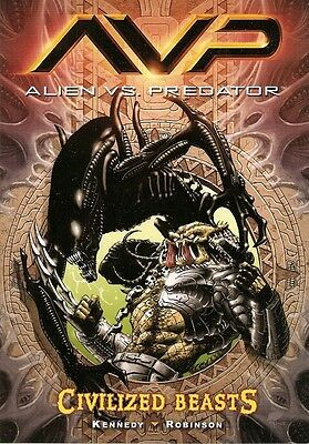 Alien vs Predator  Civilised Beasts  Graphic Novel  NEW