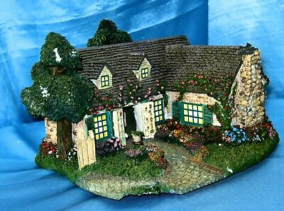 Thomas Kinkade STUDIO IN THE GARDEN - Hawthorne Village Collection