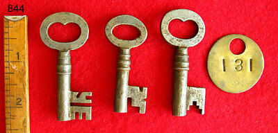 Antique Skeleton Keys From Old Factory - Padlock Steampunk All Keys $39.99 Here!