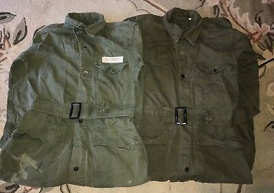 Lot Vintage Air Force M-2411 Flight Suit Coveralls Army