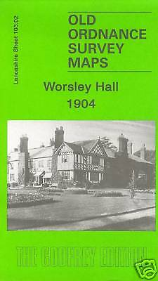 OLD ORDNANCE SURVEY MAP WOOLTON 1904 LIVERPOOL ALLERTON GATEACRE NURSERIES