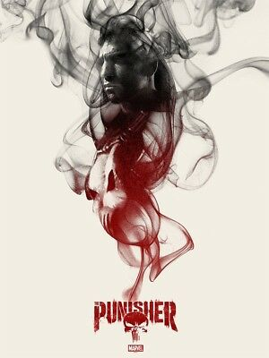 MONDO THE PUNISHER by Greg Ruth 18x24 Poster #/250 (Same artist as Twin Peaks)