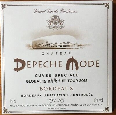 "Depeche Mode ""global Spirit Tour Live In Bordeaux"" Rare Double Cd Live 2018 !"