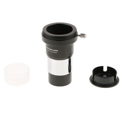MagiDeal 1.25'' / 31.7mm 2X Barlow Lens M42 Thread for Telescope Eyepiece