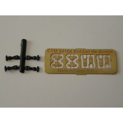 CTM 24184 Rubber hood latch(Universal scale 1:24 and 1:25)