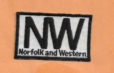 """Norfolk And Western  Railroad Patch  3 1/8""""  ***"""