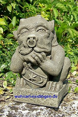 DS76s mini Shield Gargoyle Steinfigur orginal Devonshire Statuary