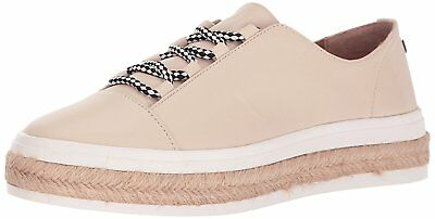 Calvin Klein Womens Jupa Leather Low Top Lace Up Fashion Sneakers