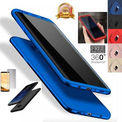 Hybrid Shockproof 360° Ultra thin Case Cover Skin For Samsung Galaxy