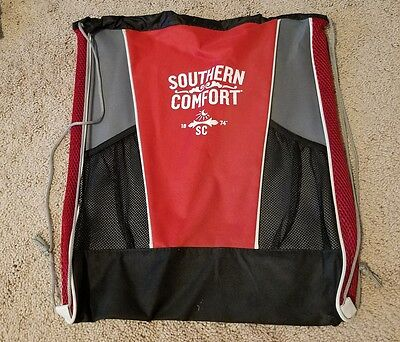 Black and Red SOUTHERN COMFORT Bag - 4 available
