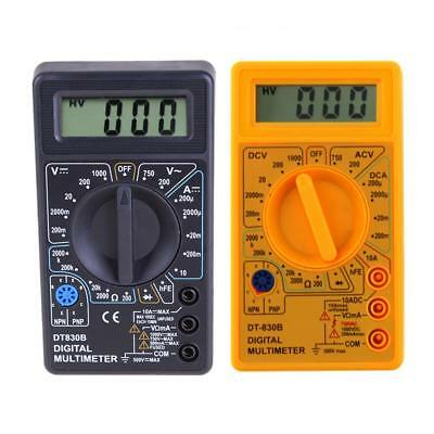 DT-830B LCD Display Digital Multimeter AC/DC 750/1000V Amp Volt Ohm Tester Meter