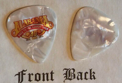 ALABAMA band signature logo guitar pick -(q)