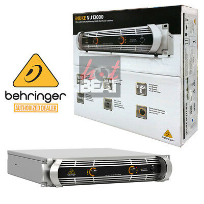 Behringer NU12000 iNUKE DJ/Club Amp 12,000 Watt Lightweight Power Amplifier 220V