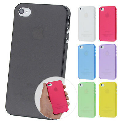 Ultraslim Fine Matte Case Apple iPhone 4 4s Cases Bumper Cover Case Foil