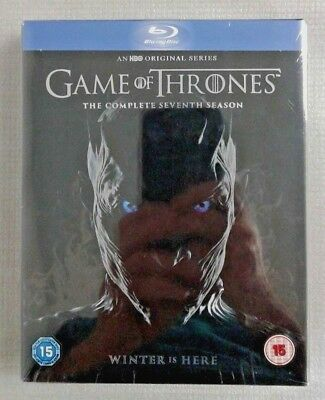 Game of Thrones Season 7 + Conquest and rebellion [Blu-Ray] New and sealed