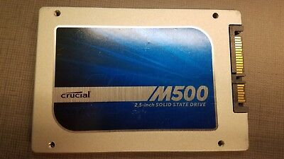Crucial M500 120GB SSD CT120M500SSD1 - USED - FREE SHIPPING