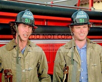 "Kevin Tighe & Randolph Mantooth In ""emergency!"" - 8X10 Publicity Photo (Aa-913)"