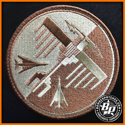 34Th Expeditionary Bomb Sq Thunderbirds Deployment Desert Embroidered Patch B-1