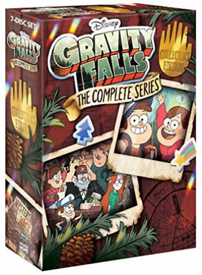 GRAVITY FALLS -THE COMPLETE SERIES  - Region A - BLU RAY - Sealed