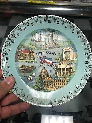vintage mississippi state Wall Plate