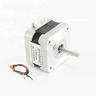 NEMA 17 Stepper Motor 12V 1.8° 12Ncm 0.6A For CNC Router Reprap 3D Printer
