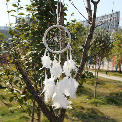 Dream Catcher Net With feathers Decoration Bedroom Ornament L-45cm Handmade