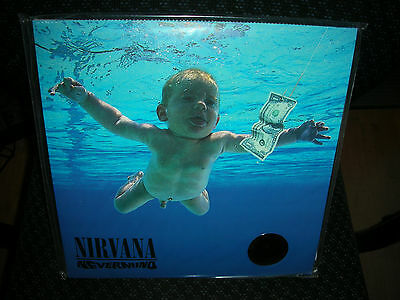 NIRVANA **Nevermind **BRAND NEW 180 GRAM RECORD LP VINYL
