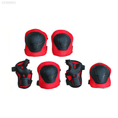 Kids Roller Skating Scooter Knee Elbow Palm Protector Protection Gear Pad Set