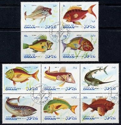 1972 Oman - Fish (10) CTO