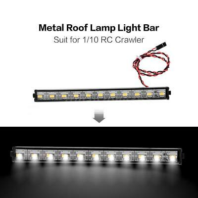 1//10 Car Light Bright LED Lamp Roof Light For 1//8 Off-Road RC Rock Crawler S8Z7