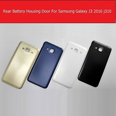 Hous Battery Door Back Rear Case Cover For Samsung Galaxy J3 (2016) J310+1 Film