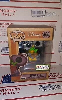 Funko Pop Disney: Wall-E #400 Earth Day Boxlunch Exclusive. In Hand, Ships Ww.