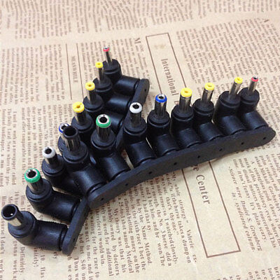 8 in 1 5.5 x 2.1mm Right Angle Male Female DC Connector Power Plug Jack Adapter