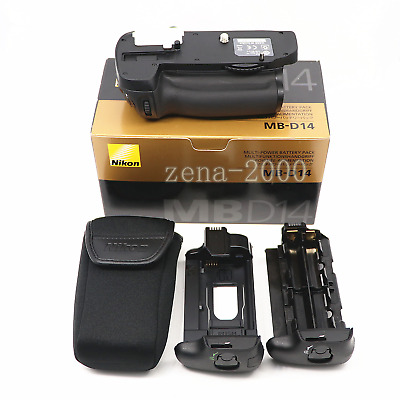 Genuine Nikon MB-D14 Multi-Power Battery Pack Grip for D610 D600 EN- EL15 & AA