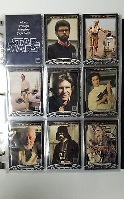 Star Wars 30 Trading Card Complete Set 2007 Topps Plus Many More Cards!