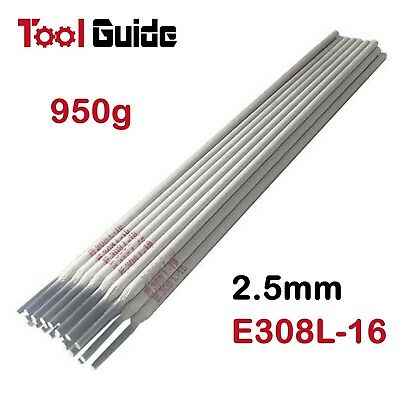 2.5mm 320mm Stainless Steel E308L-16 ARC Welding Rods Sticks Rod Stick Apprx.1KG