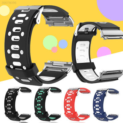 Watch Band For Fitbit Blaze Wrist TPE Replacement Strap Soft Silicone Breathable
