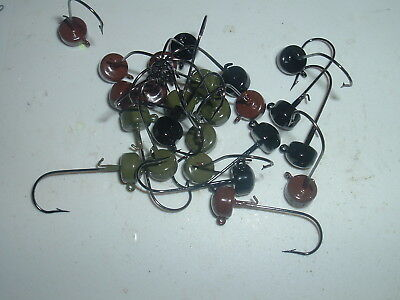 20 1//16oz Midwest Finesse Ned Rigs Mustad  #4  #2  #1 1//0  2//0 or 3//0 BLN Hooks