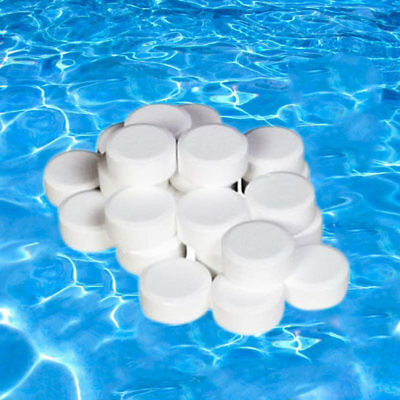 50x 20g Multifunctional Chlorine Tablets for Hot Tub Swimming Pool Spa Tubs