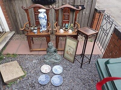 Chinese Art Job Lot (collection Only Coventry)