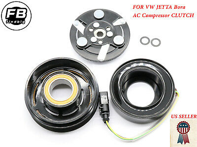 A//C Compressor Clutch Kit fits Audi A4 VW Passat B5 Skoda Superb 4 cyl DENSO
