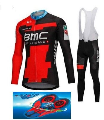 """2018 BMC cycling SET winter thermal 9D GEL PAD  """"Fast Delivery"""""""