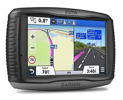 "Garmin ZUMO 590LM 5"" Motorbike Satellite Navigation System with UK Europe 45"
