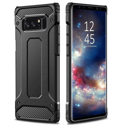 Hybrid Armor Case For Samsung Galaxy Note 9 S8 S9 + Shockproof Hard Bumper Cover