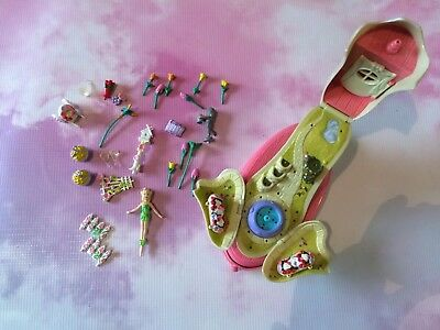 VINTAGE 1990s SHOE FARIES - Woth 27 Original Pieces And Doll - Polly Pocket