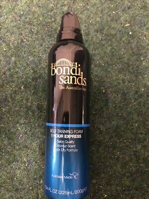 Bondi Sands The Australian Tan - Self Tanning Foam 1 Hour Express 225ml New